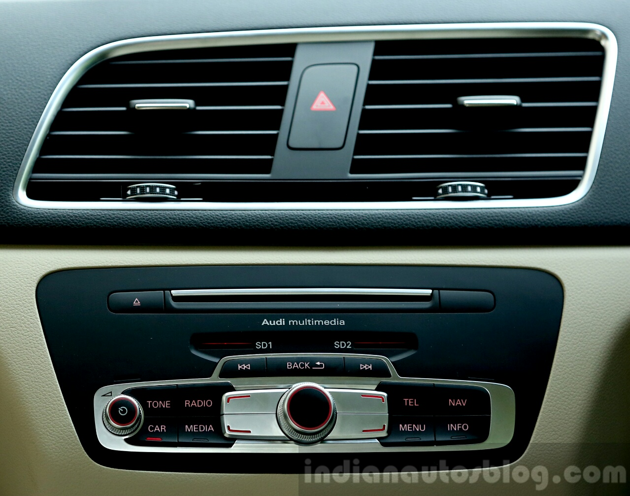 2015 Audi Q3 facelift music system India Review