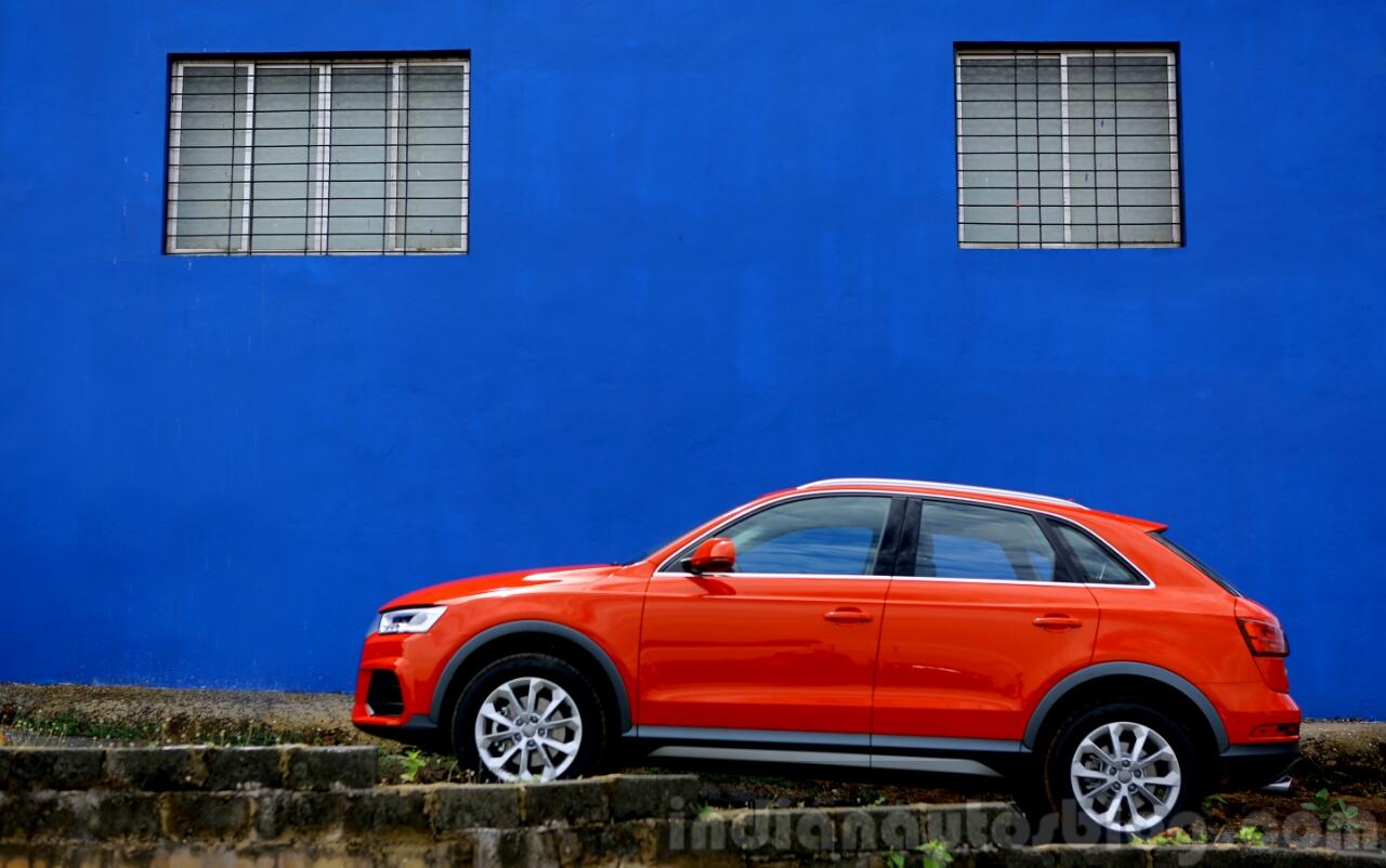 2015 Audi Q3 facelift profile India Review