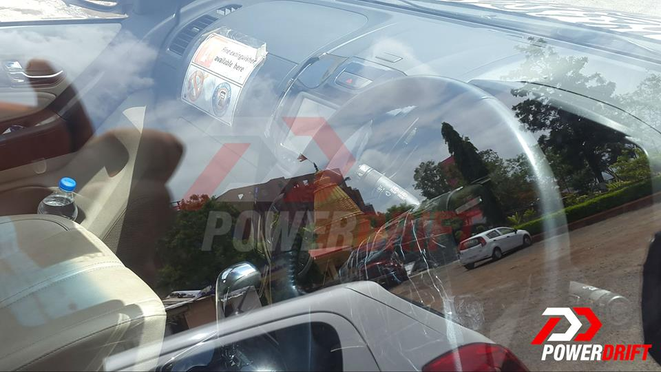 2015 Chevrolet Trailblazer dashboard snapped up close