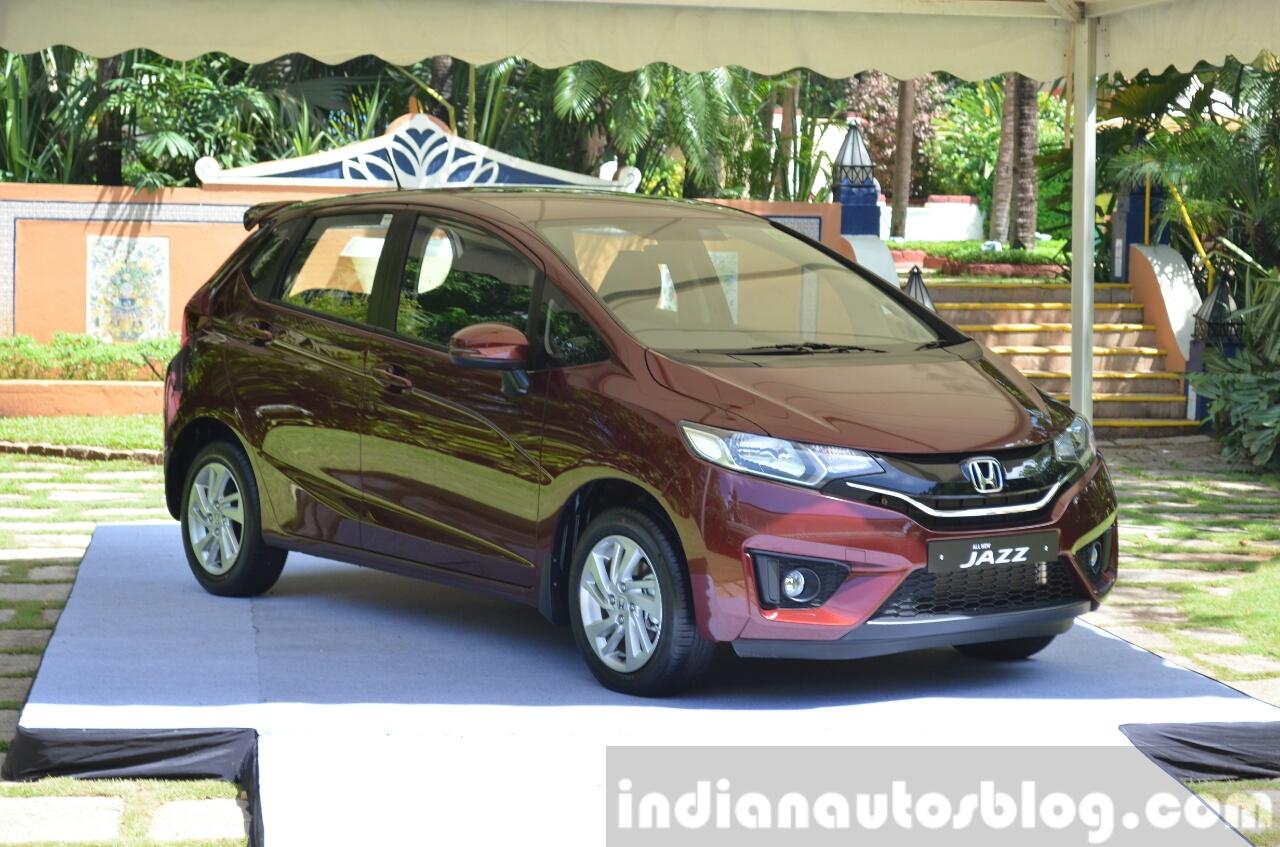 2015 Honda Jazz 1.2 VX MT India
