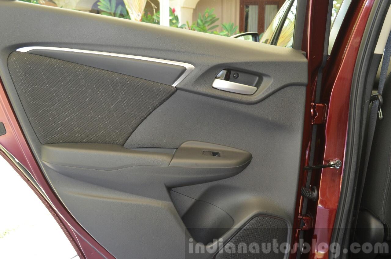 2015 Honda Jazz 1.2 VX MT rear door insert India