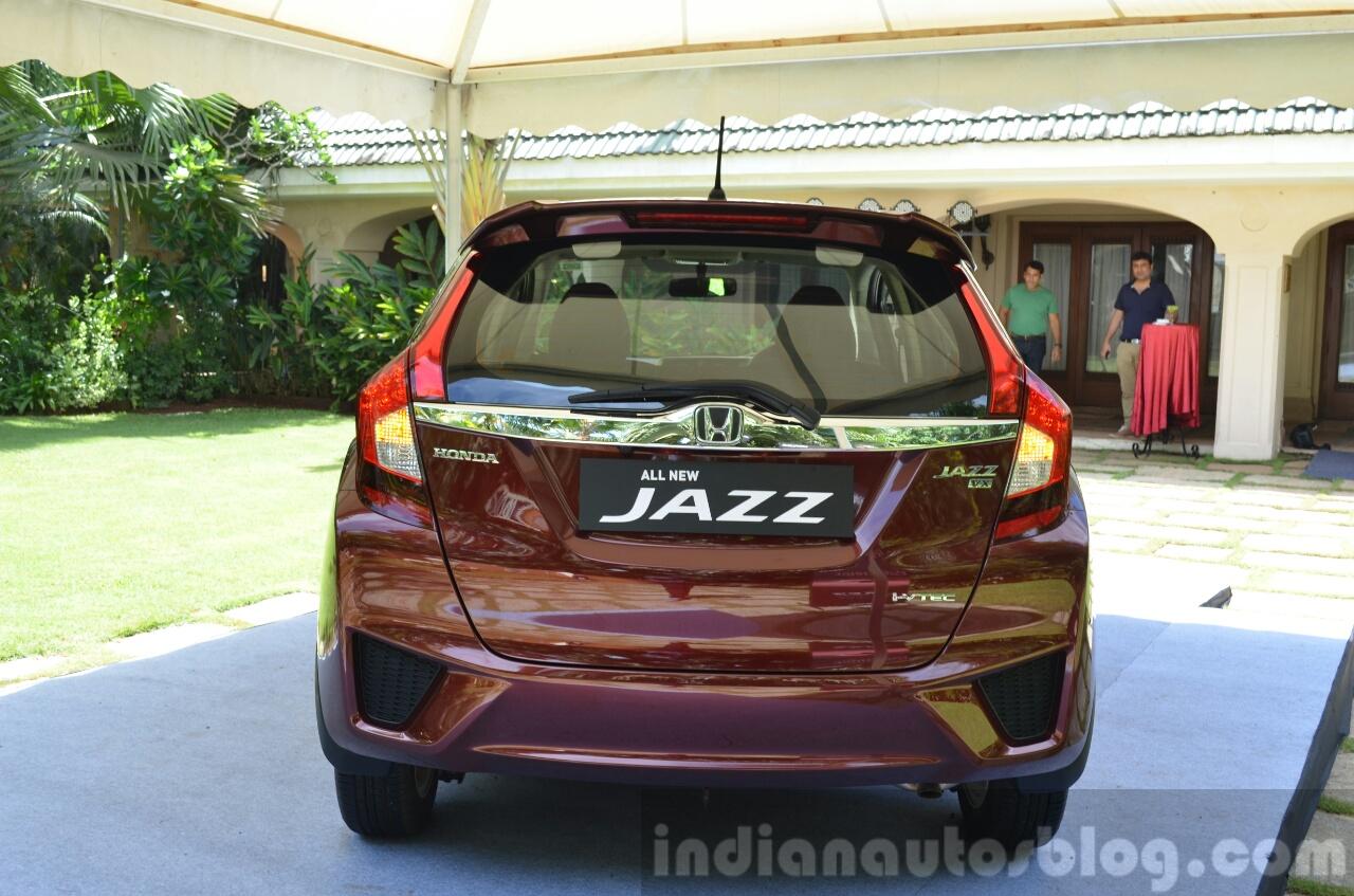 2015 Honda Jazz 1.2 VX MT rear lights on India
