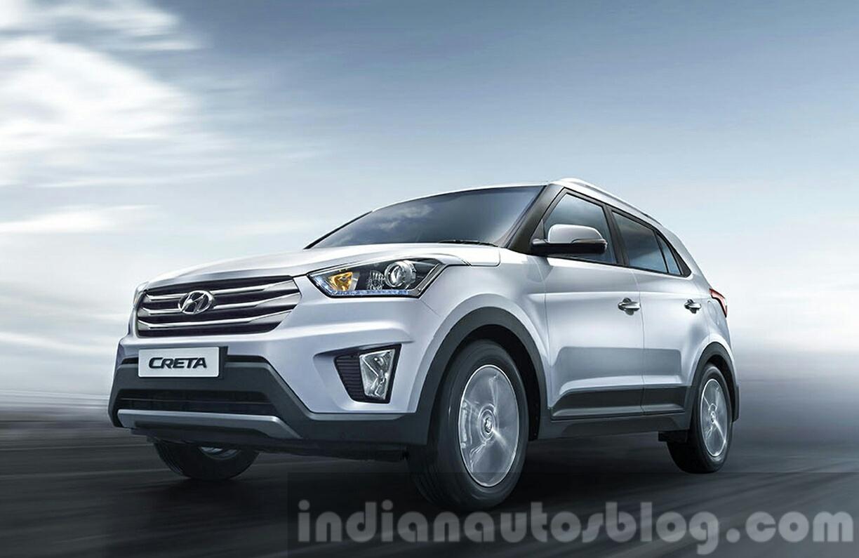 2015 Hyundai Creta front quarter unveiled press image