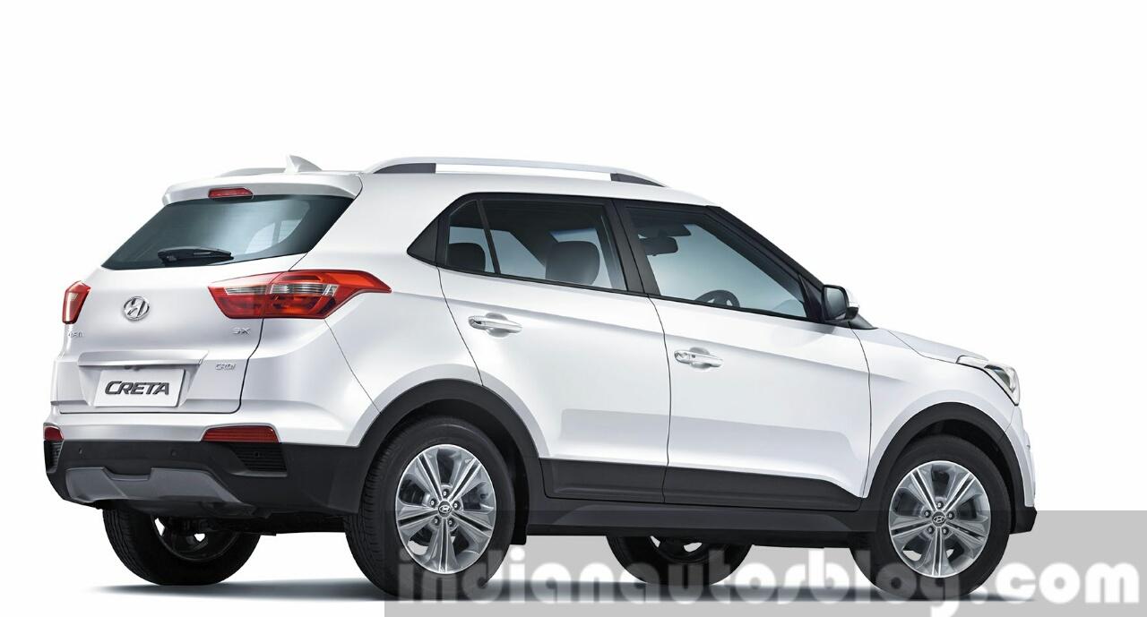 2015 Hyundai Creta rear quarter unveiled press image