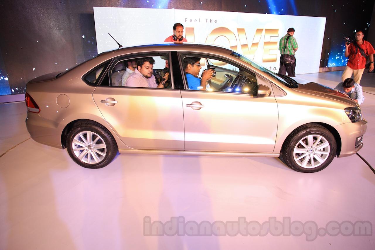 2015 VW Vento facelift profile