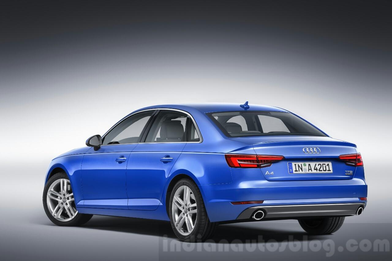 2016 Audi A4 profile press shots