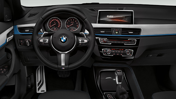 2016 BMW X1 M-Sport Package interior surfaces