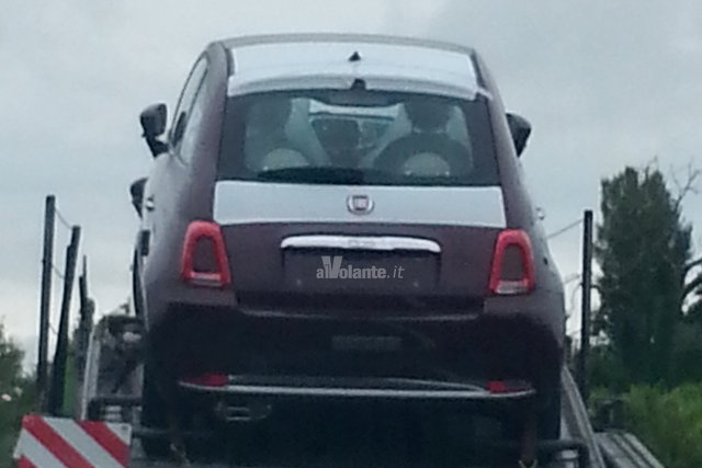 2016 Fiat 500 facelift leaked