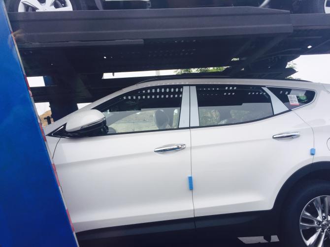 2016 Hyundai Santa Fe Prime side (facelift) spotted in transit