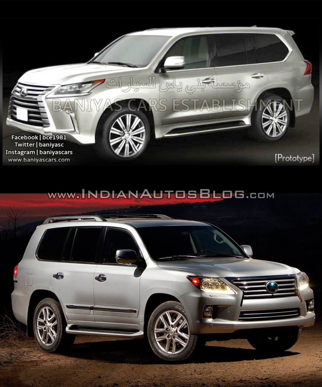 Lexus Latest Models >> 2016 Lexus Lx570 Vs 2014 Lexus Lx570 Old Vs New