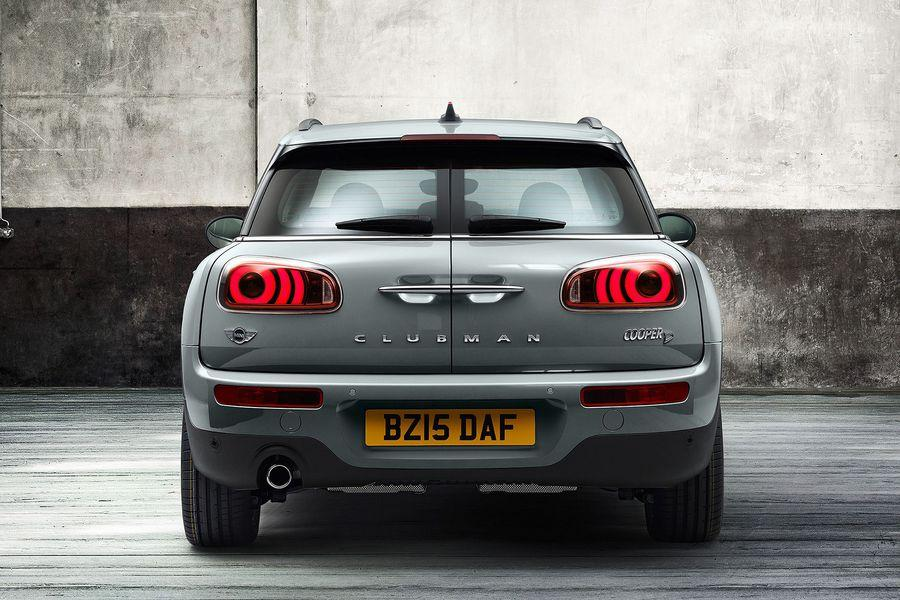 2016 Mini Clubman rear official gallery surfaces