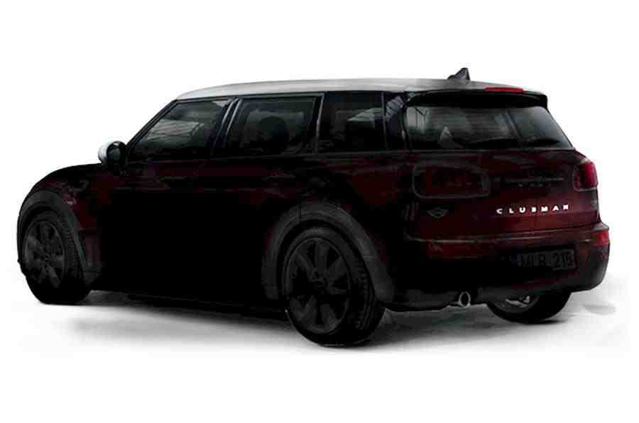 2016 Mini Clubman rear three quarter teased ahead of debut