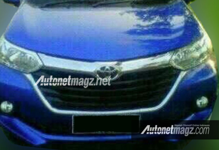2016 Toyota Avanza facelift front leaked
