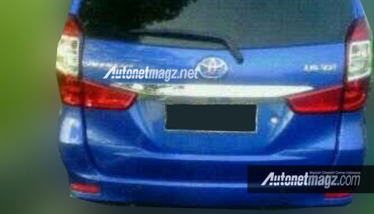 2016 Toyota Avanza facelift rear leaked