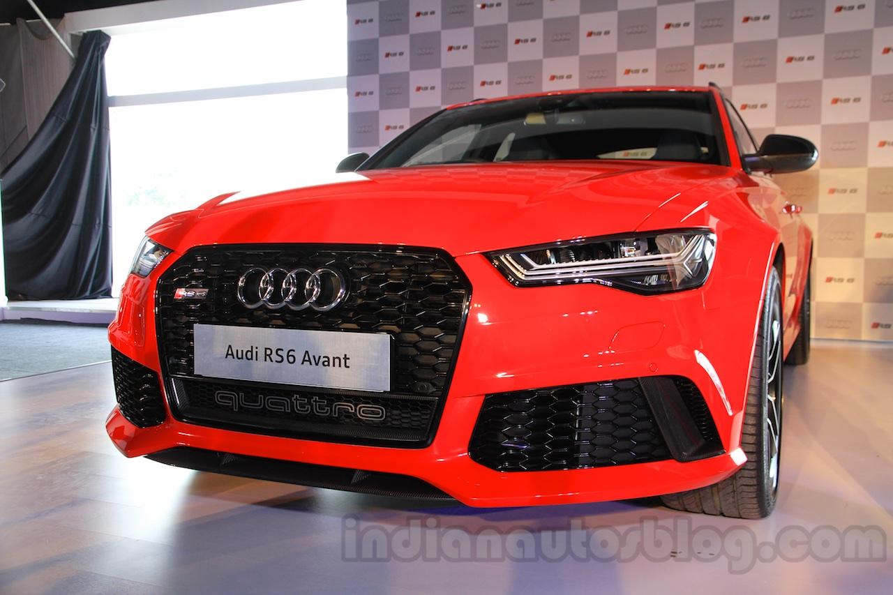 Audi RS6 Avant India launch