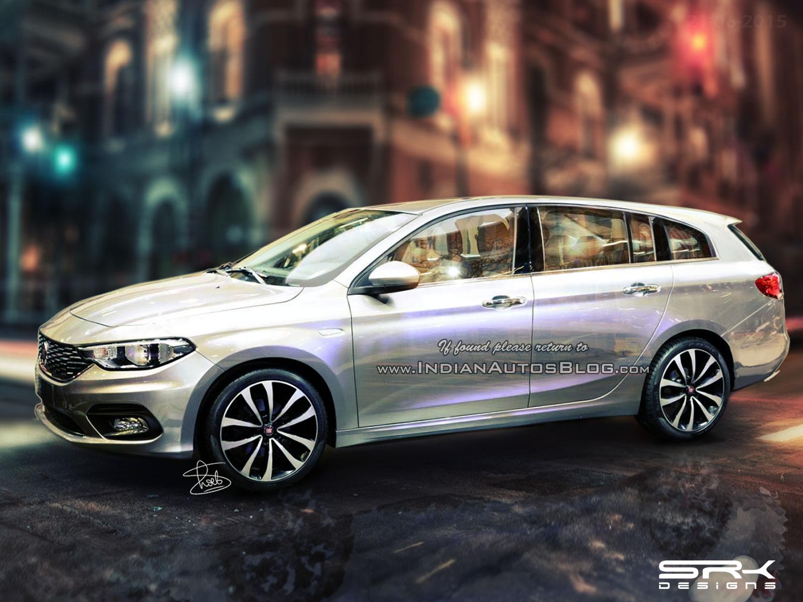 Fiat Aegea station wagon IAB rendering