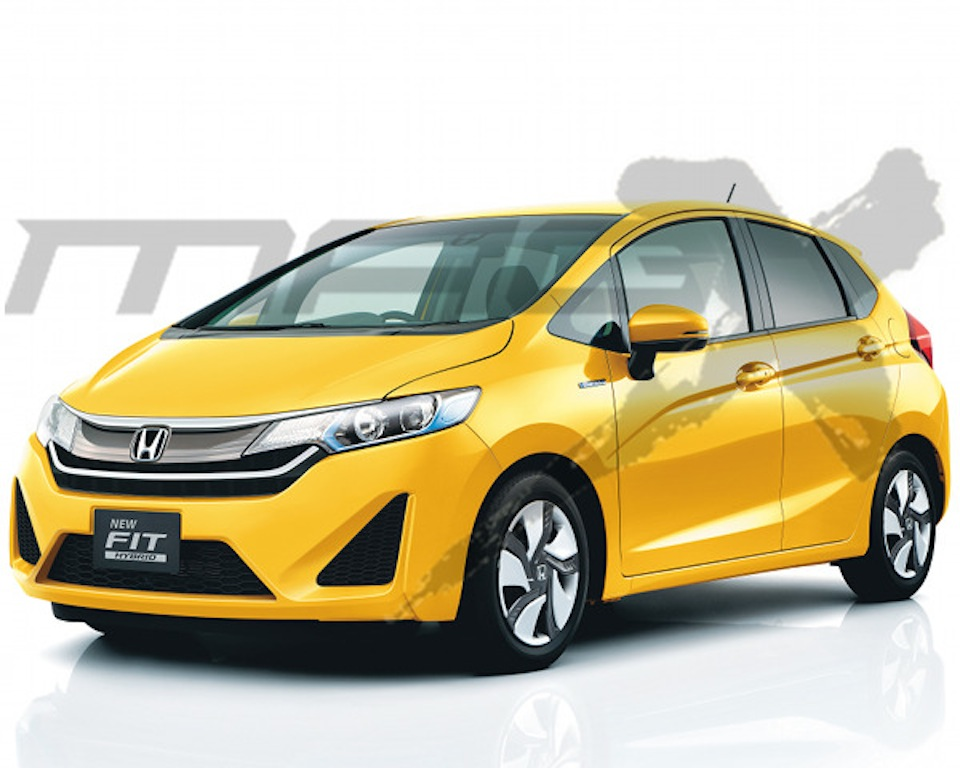 Honda Jazz facelift (Honda Fit facelift) rendering