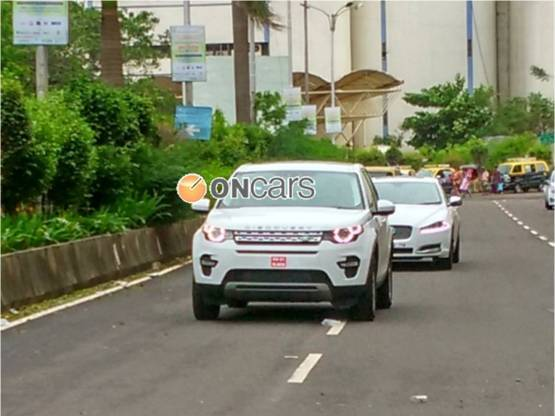 Land Rover Discovery Sport India spied