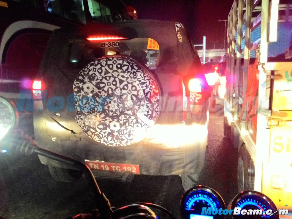 Mahindra U301 rear snapped in Chenna