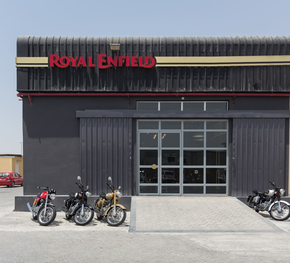 Royal Enfield Dubai Showroom official