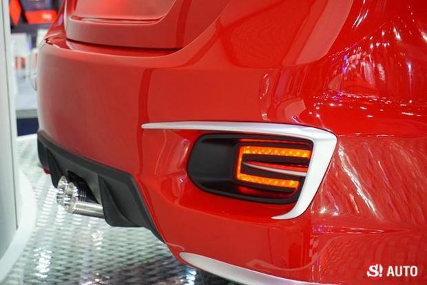 Suzuki Ciaz Custom dual exhausts