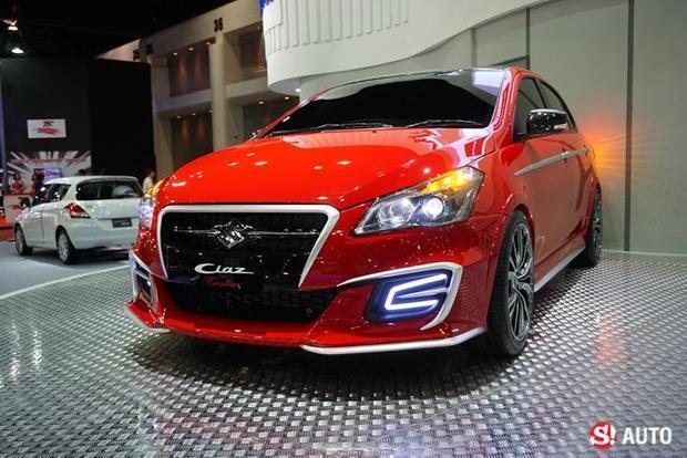 Suzuki Ciaz Custom front quarter