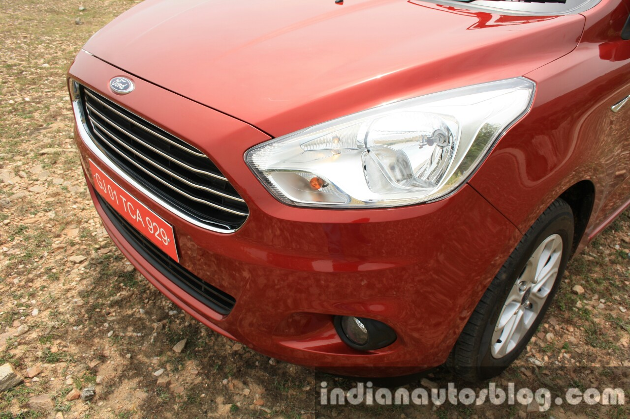 2015 Ford Figo Aspire Titanium 1.5 Diesel front end first drive review