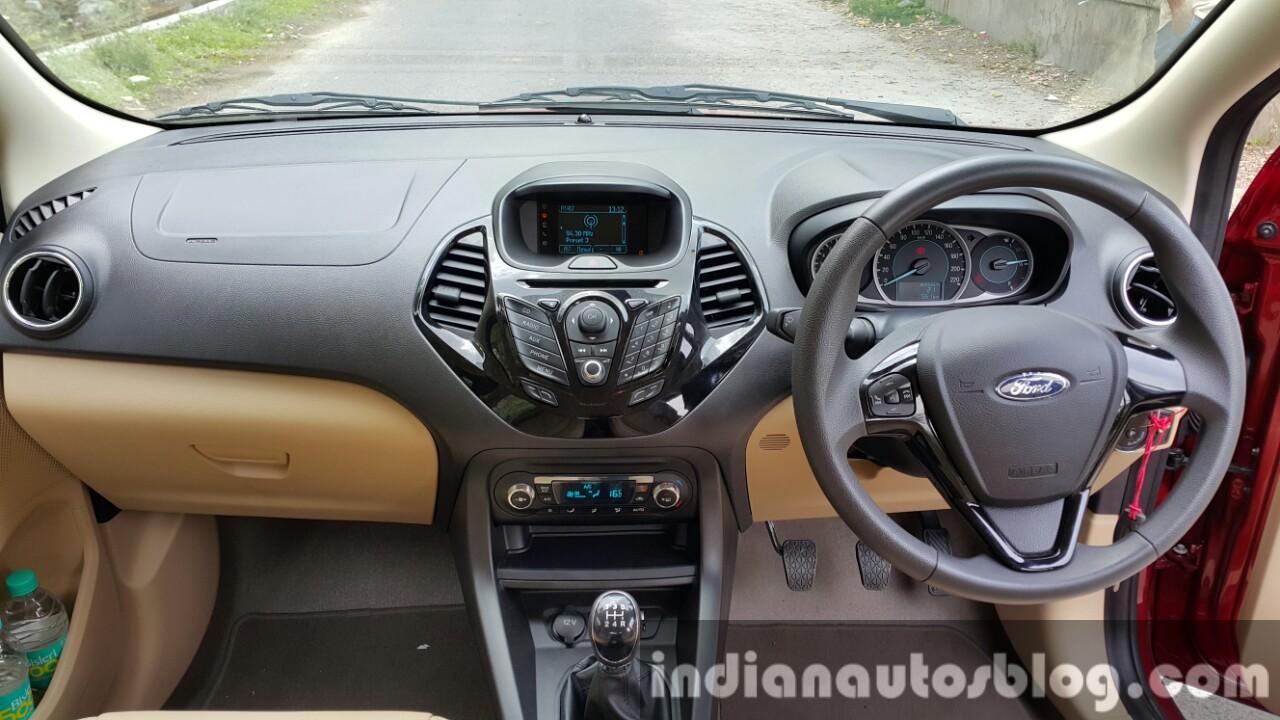 2015 Ford Figo Aspire Titanium first drive review