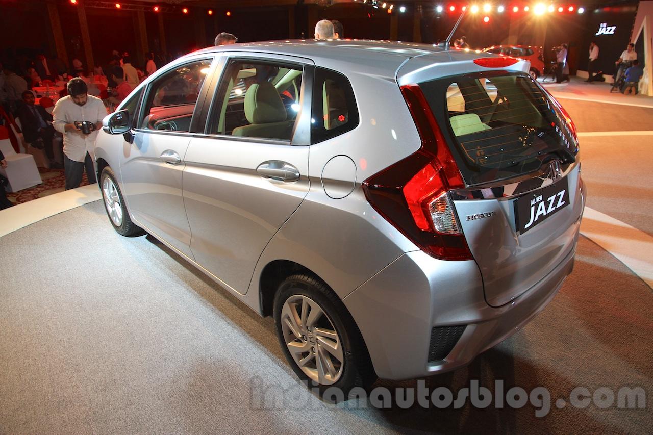 2015 Honda Jazz rear quarter India launch