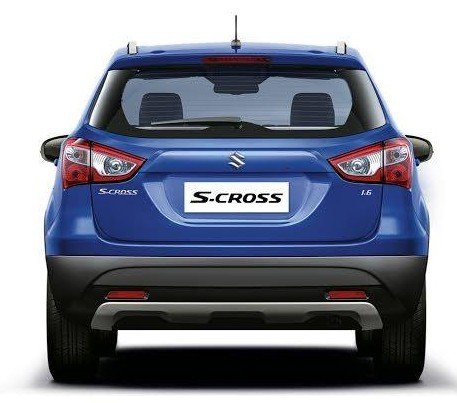 2015 Maruti S-Cross rear press image