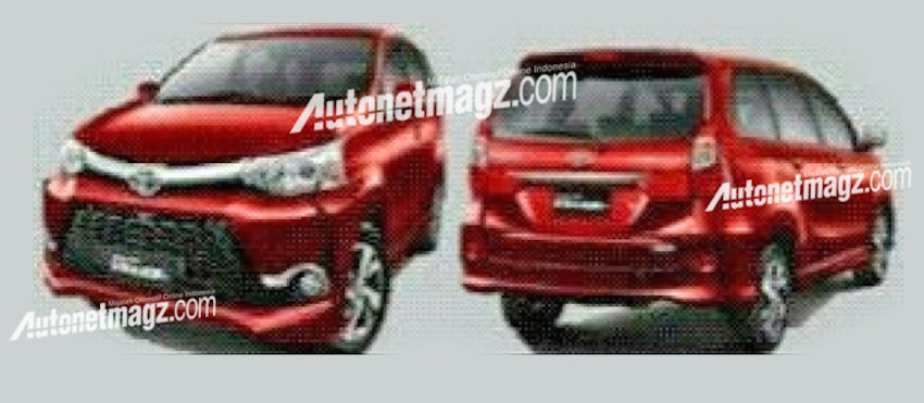 2015 Toyota Avanza and Avanza Veloz (facelifts) front and rear quarter official photos leak