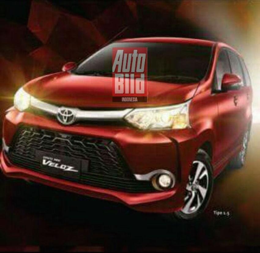 2015 Toyota Grand New Veloz front three quarter brochure shot leak