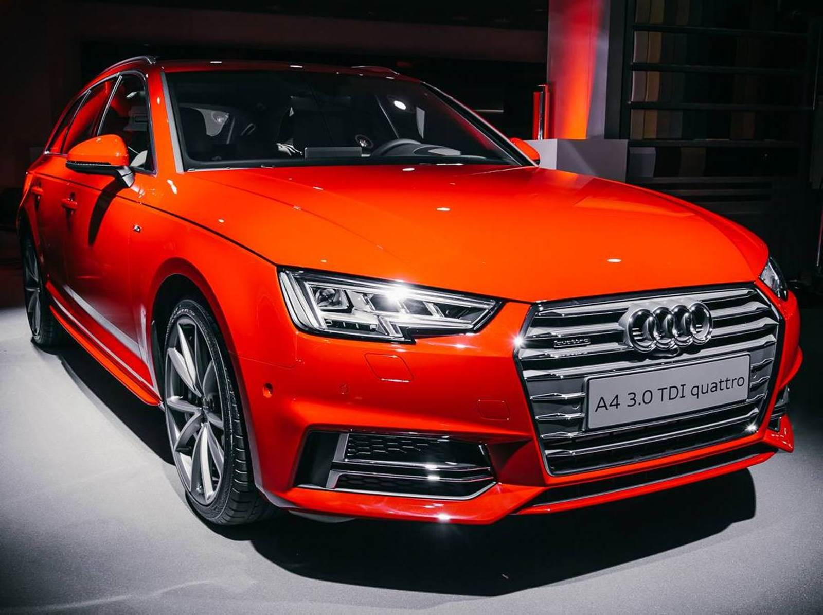 india-bound 2016 audi a4 priced at gbp 25,900 - uk
