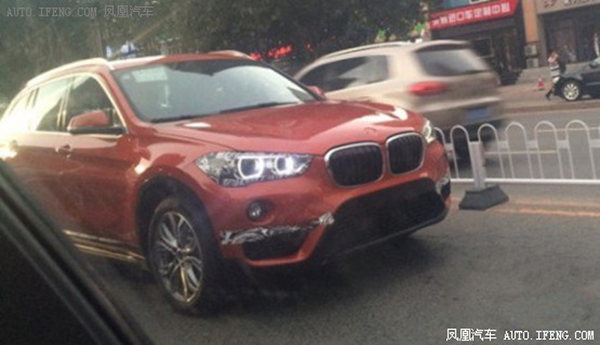 2016 BMW X1 (next generation) front quarter spotted testing in China