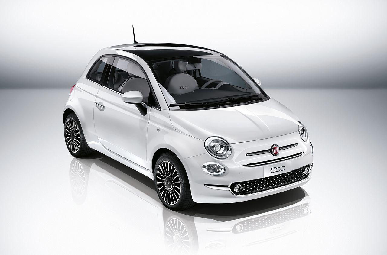 2016 Fiat 500 (facelift) front quarter unveiled press image