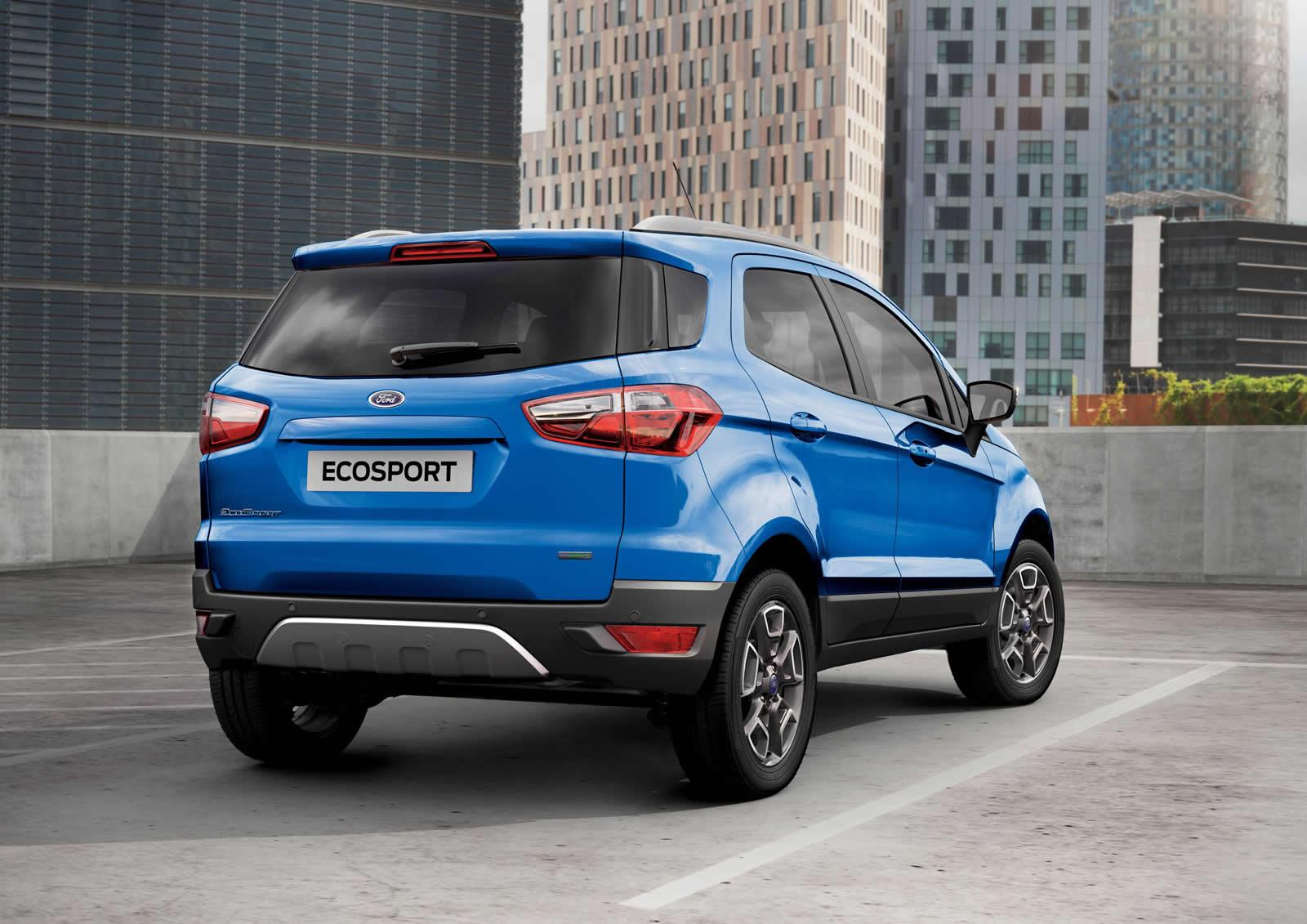 Improved More Powerful 2016 Ford Ecosport Prices Announced