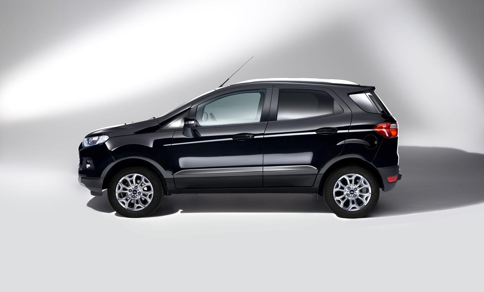 2016 Ford EcoSport side Europe