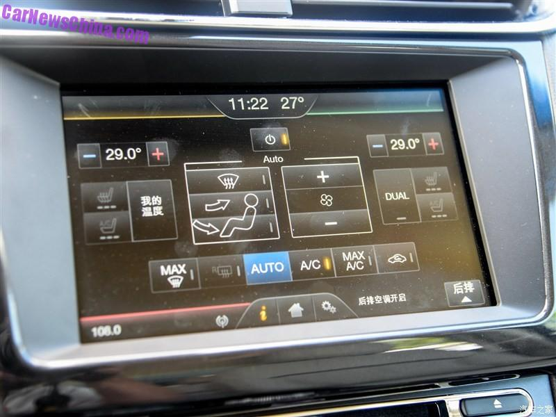 2016 Ford Taurus infotainment display spotted in the flesh post unveil