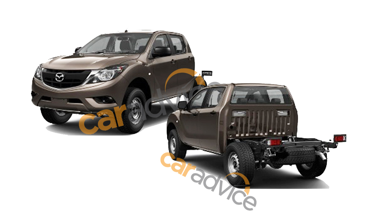 2016 Mazda-BT-50 chassis cab patent leak