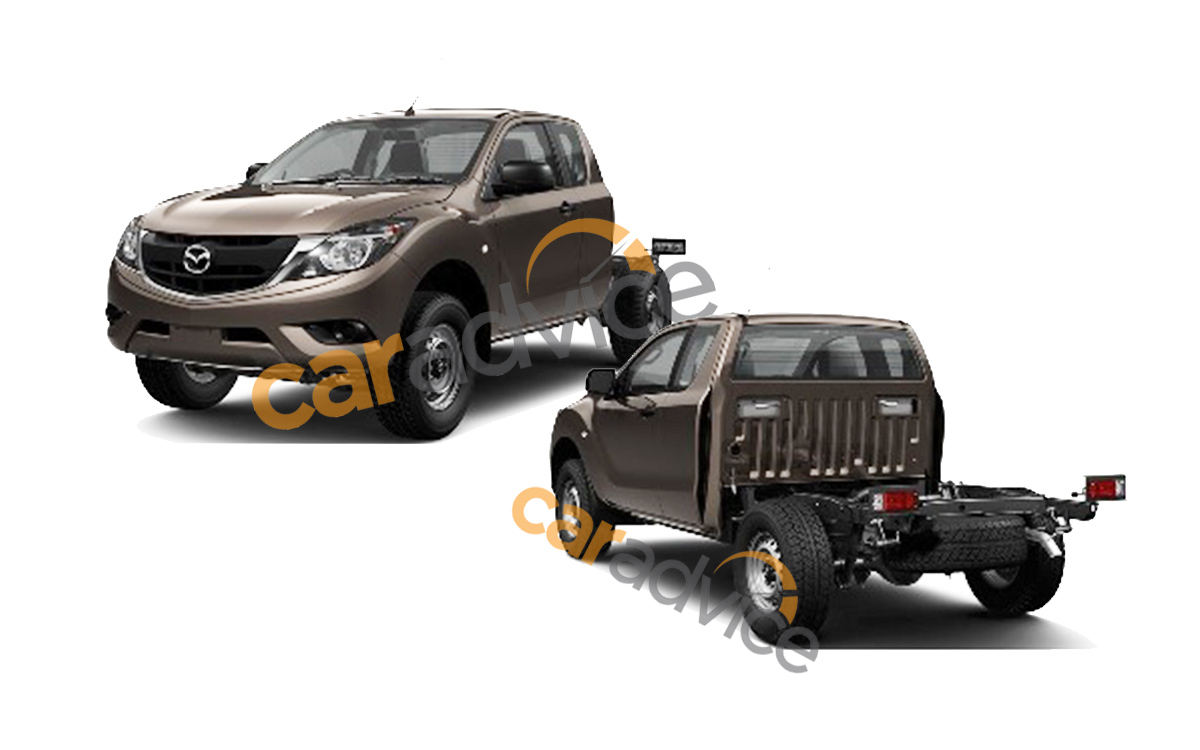 2016 Mazda-BT-50 extended cab chassis patent leak