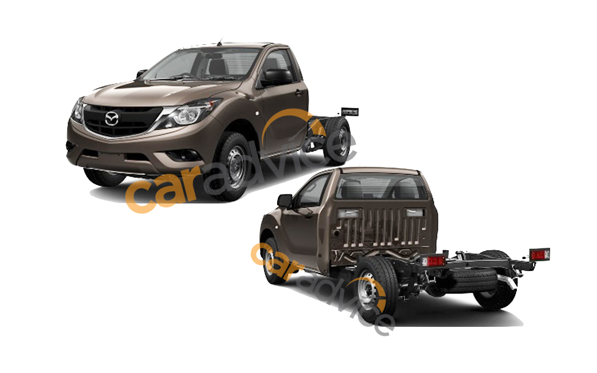 2016 Mazda-BT-50 single cab chassis patent leak