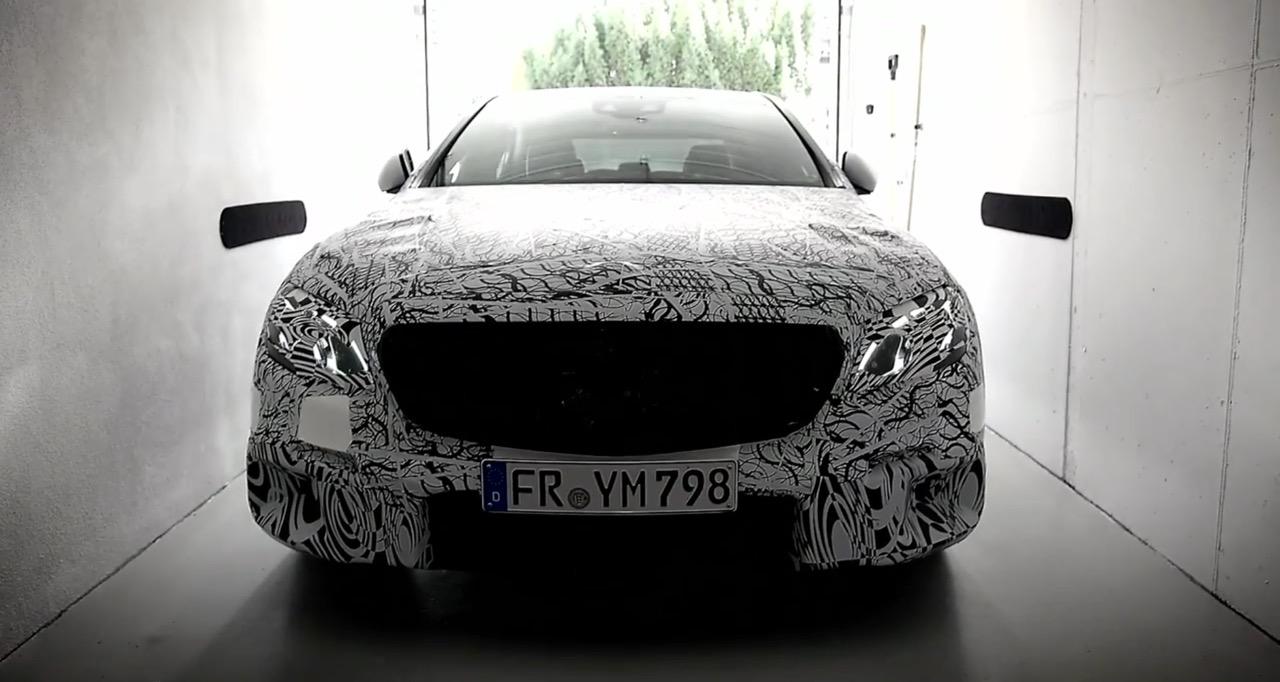 2016 Mercedes E Class front technical features detailed