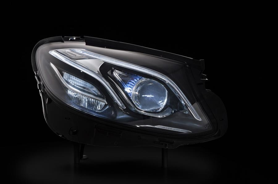 2016 Mercedes E Class headlamps technical features detailed