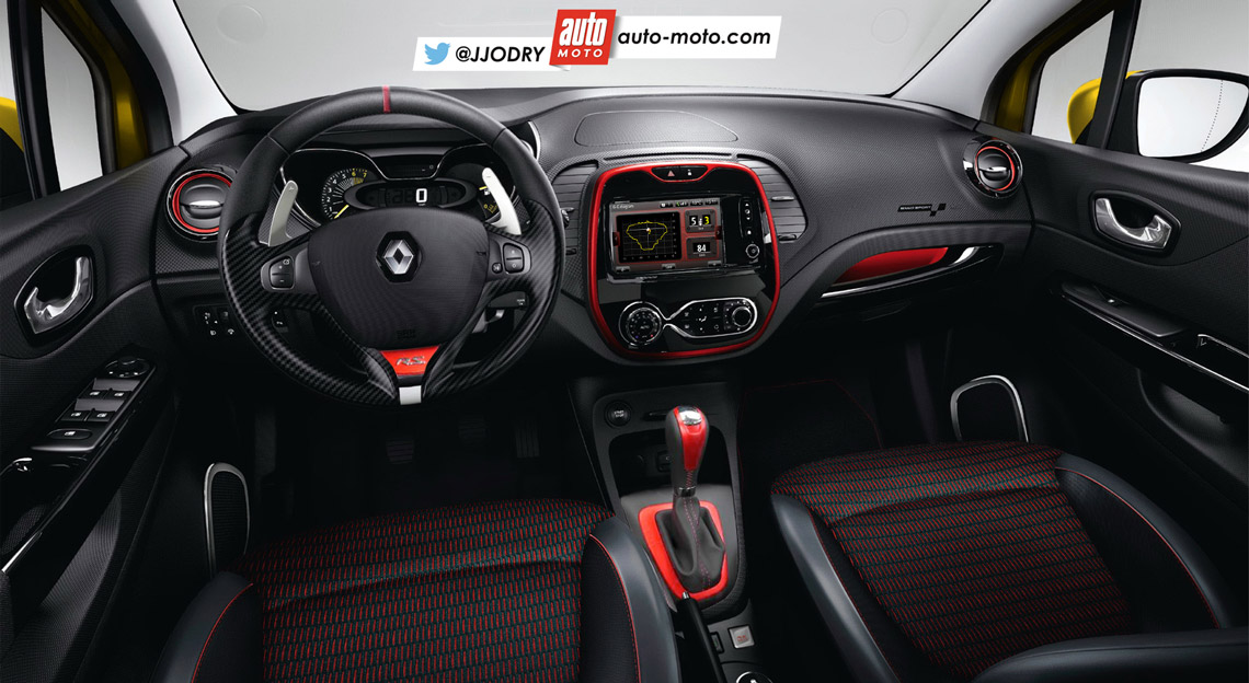 2016 Renault Captur R S Likely To Pack 200 Hp Rendering