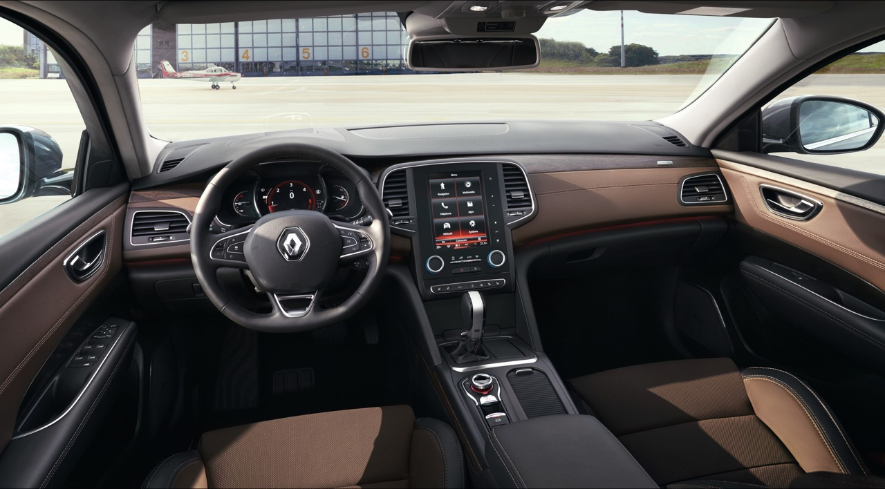 2016 Renault Talisman dashboard unveiled