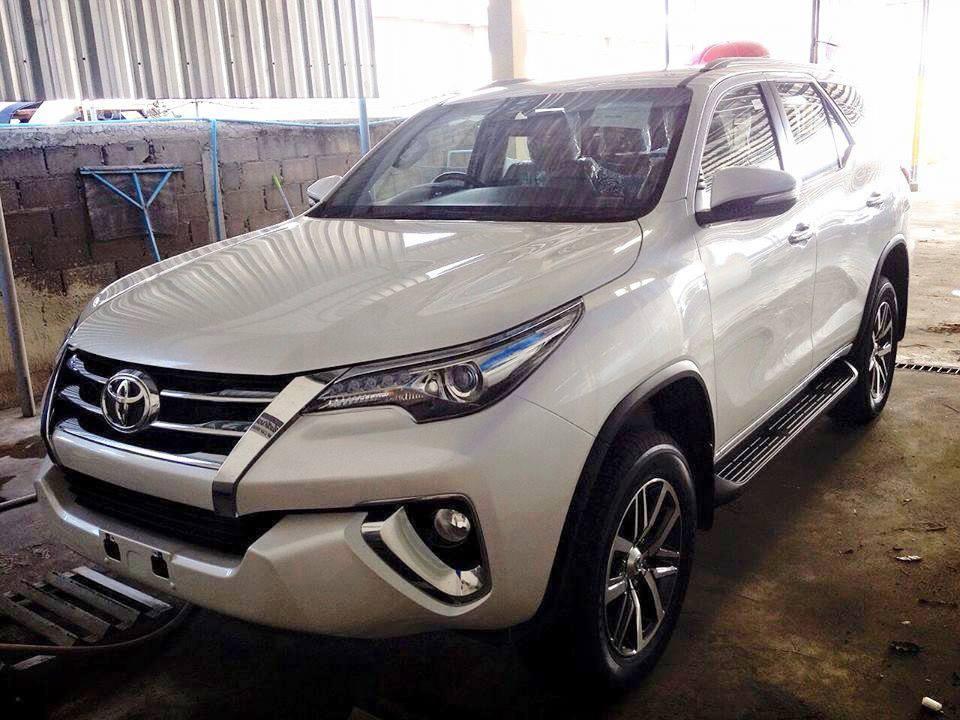 2016 Toyota Fortuner front quarter leaked