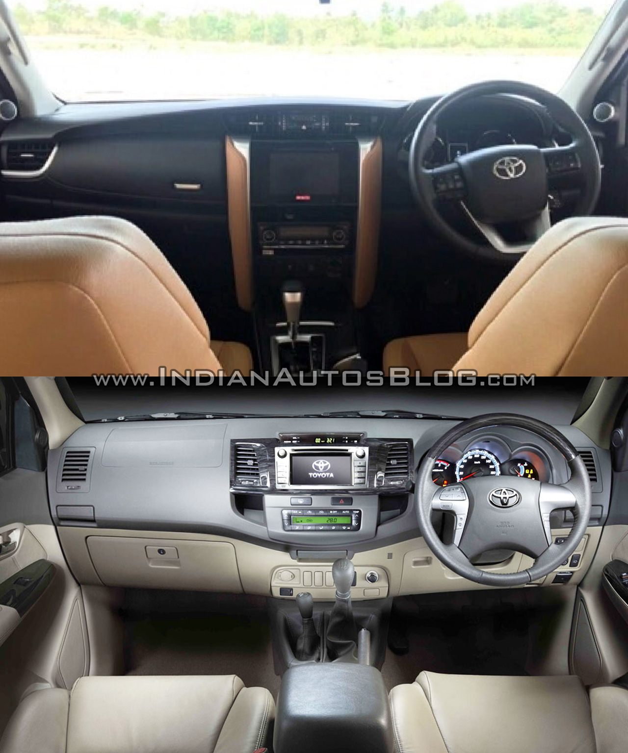 2016 Toyota Fortuner vs current Toyota Fortuner - Old vs New
