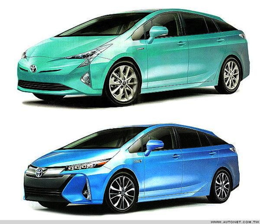 Toyota Camry Hybrid 2016: 2016 Toyota Prius, Prius PHEV Leaked Ahead Of Premiere