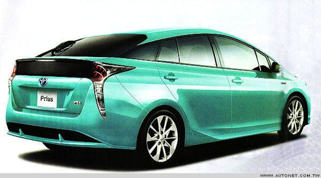 2016 Toyota Prius rear leaked