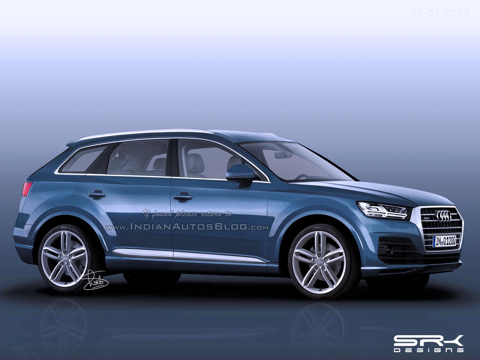 Audi Q1 compact SUV - IAB Rendering